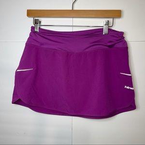 Hind tennis skort, purple size small